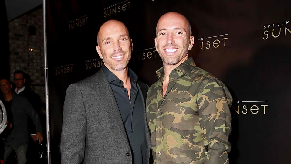 The Oppenheim Brothers own the brokerage in Selling Sunset (Images: Getty Images)