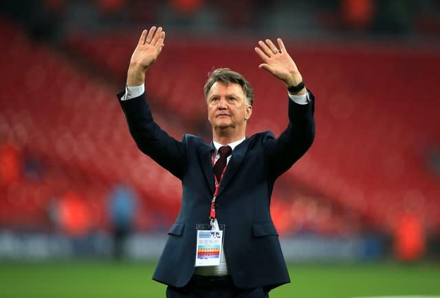 Louis Van Gaal was on the top of Daniel Levy's wishlist in 2014, but the Dutchman chose Manchester United (Mike Egerton/PA)