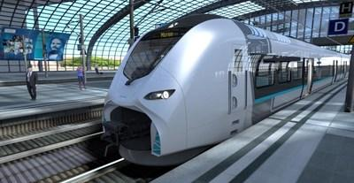 Mireo is Siemens' new regional and commuter train platform (CNW Group/Ballard Power Systems Inc.)