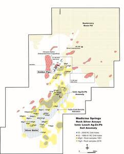Figure 3: NLR Exploration Results Medicine Springs