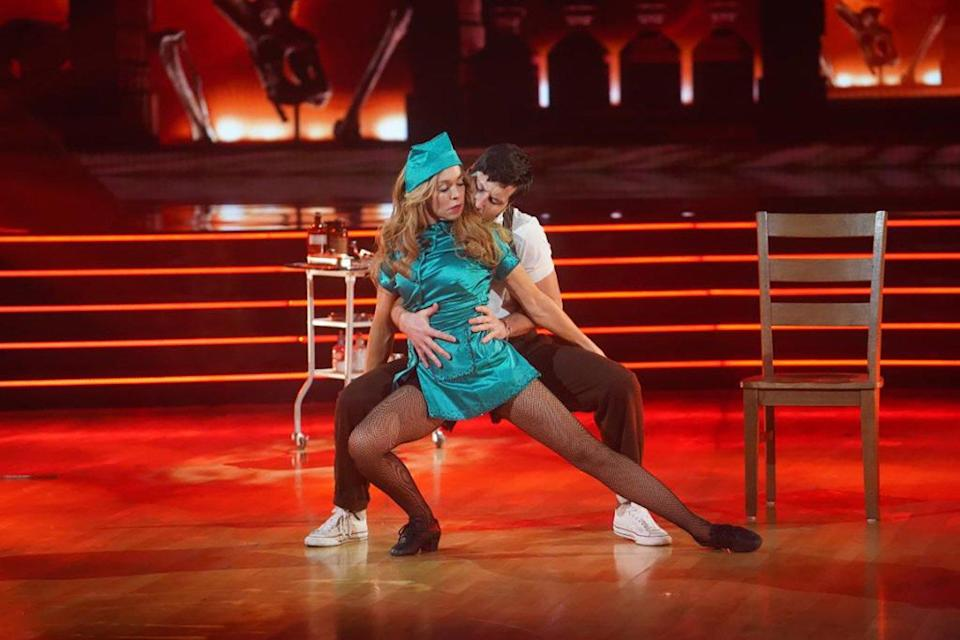 Cheer 's Monica Aldama Gets Eliminated from Dancing with the Stars on Villains Night