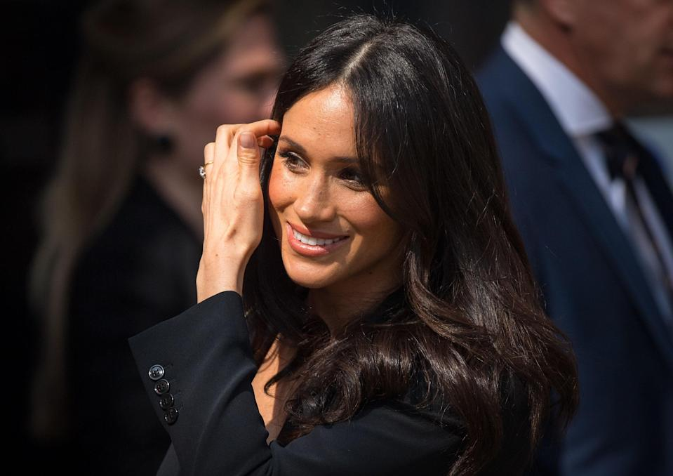 The Duchess of Sussex was reported to have spent time in Balmoral for the first time this summer. [Photo: Getty]