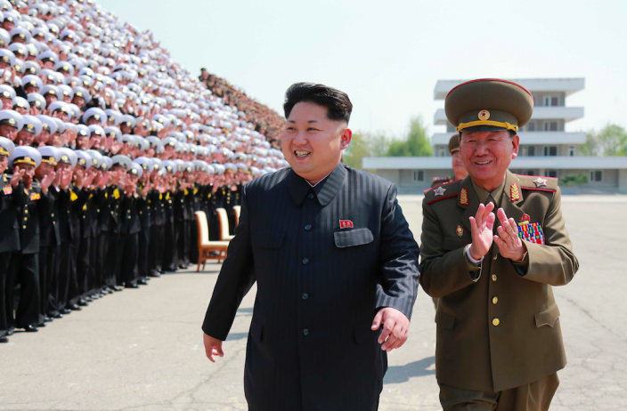 <em>North Korea will have missiles that can reach the UK within 18 months, according to MPs (Rex)</em>