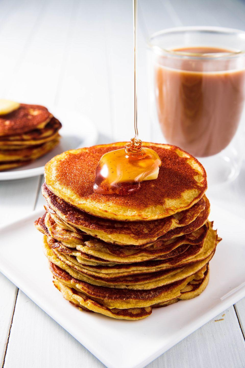 "<p>Super soft and tender, with just a hint of sweetness.</p><p>Get the recipe from <a href=""https://www.delish.com/cooking/recipe-ideas/a25350343/coconut-flour-pancakes-recipe/"" rel=""nofollow noopener"" target=""_blank"" data-ylk=""slk:Delish"" class=""link rapid-noclick-resp"">Delish</a>. </p>"