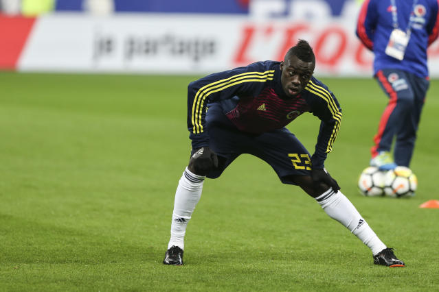 <p>Davinson Sanchez is part of a Colombia team worth €279m. </p>