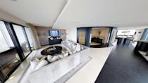"""<p>The only penthouse in the top five, this stunning loft space has five large bedrooms, a luxurious curved reception hallway, tiled flooring, floor-to-ceiling windows, a cinema room and multiple terraces. Tempted? You'll need £3.5 million. </p><p><a href=""""https://www.rightmove.co.uk/property-for-sale/property-57211584.html"""" rel=""""nofollow noopener"""" target=""""_blank"""" data-ylk=""""slk:This property is on the market for £3,500,000 via Rendall & Rittner at Rightmove"""" class=""""link rapid-noclick-resp"""">This property is on the market for £3,500,000 via Rendall & Rittner at Rightmove</a>. </p>"""