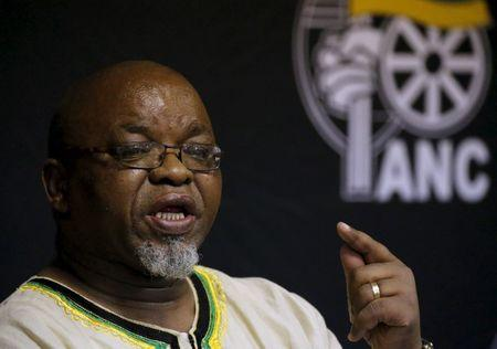 S African finance minister sacked in shock reshuffle