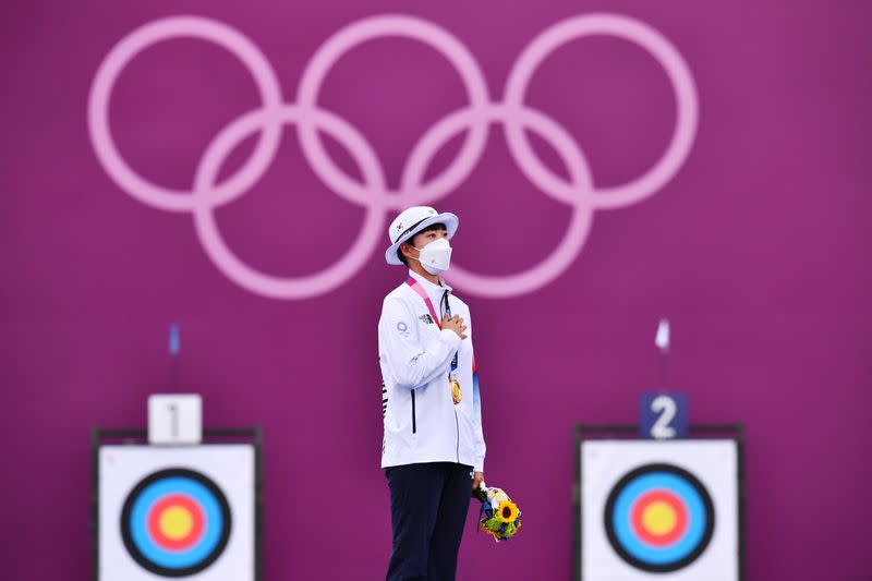Archery - Women's Individual - Medal Ceremony