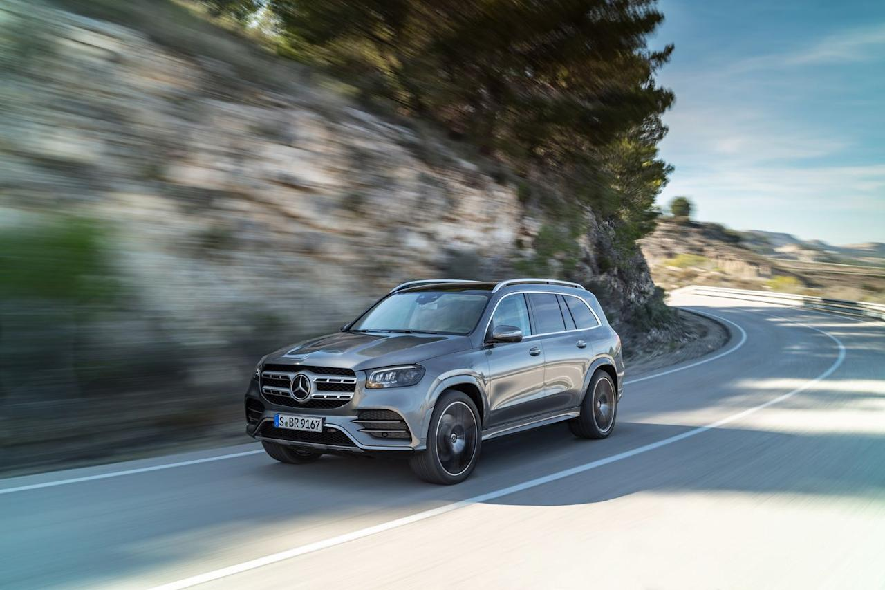 "<p>The 2020 model leans in even further to the idea that the GLS is the S-class of SUVs-and if sedan sales keep on their downward trajectory, it might actually need to <em>become </em>the S-class-with a number of upmarket additions that pave the way to <a href=""https://www.caranddriver.com/news/a26857272/mercedes-maybach-gls-suv-confirmed/"" target=""_blank"">the coming Maybach version</a>, which will be pushing $200,000.</p>"
