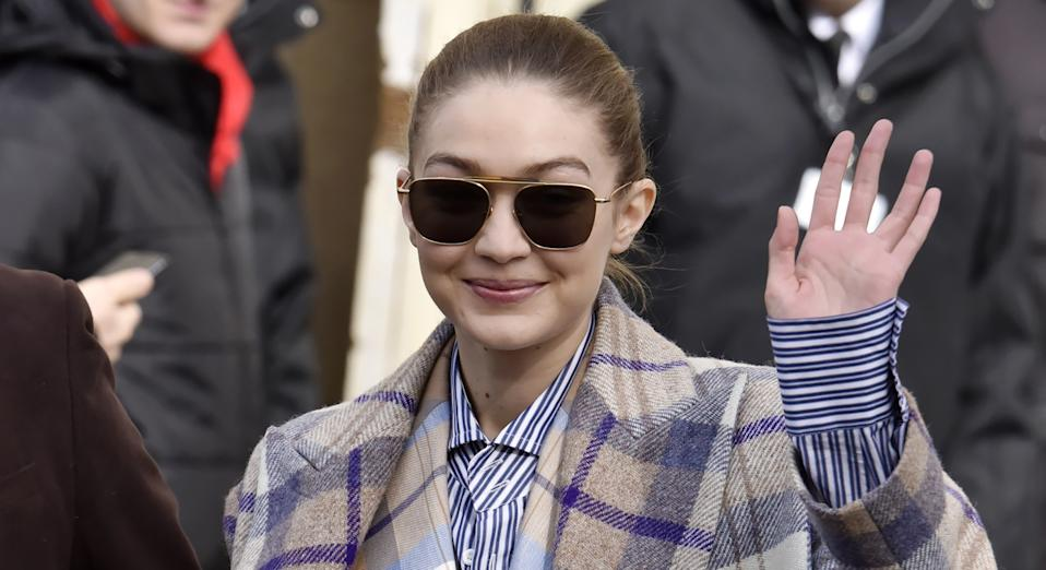 Gigi Hadid recently gave birth to a daughter. (Getty Images)