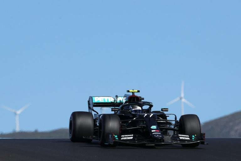 Bottas tops practice in Portugal