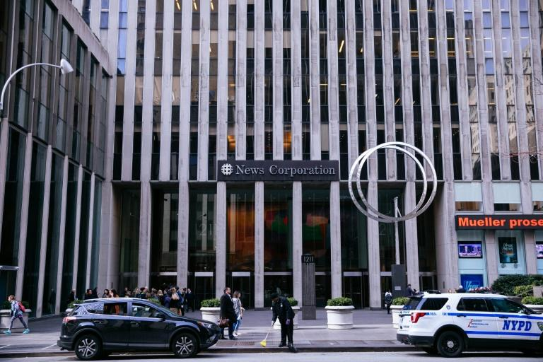 The News Corporation headquarters in New York is home to The Wall Street Journal as well as Fox News and the New York Post