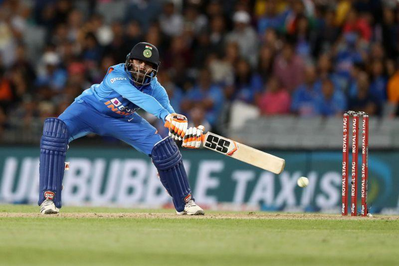 Ravindra Jadeja's efforts were not enough to get India over the line in the second ODI