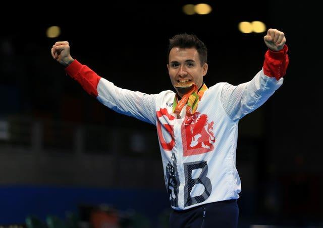 Will Bayley claimed gold in Rio
