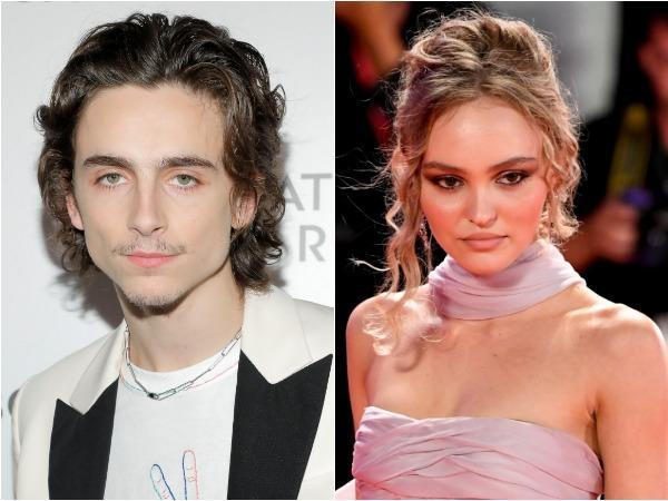 Timothee Chalamet and Lily-Rose Depp