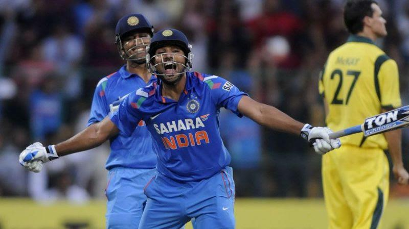 Rohit Sharma holds the record of the highest individual run scorer in ODIs.