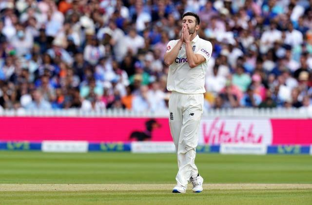England are confident Mark Wood will recover from a shoulder problem in time for the third Test (Zac Goodwin/PA)