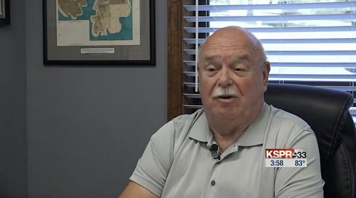 Bob Fritz, Kimberling's mayor, has spoken out about losing all of his officers  (KY3)