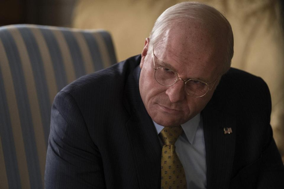 Christian Bale as Dick Cheney in Vice (Credit: Annapurna Pictures)