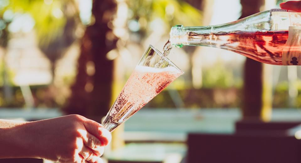 Next week will mark the first time 'official' rosé prosecco has been available to buy in the UK (Getty)