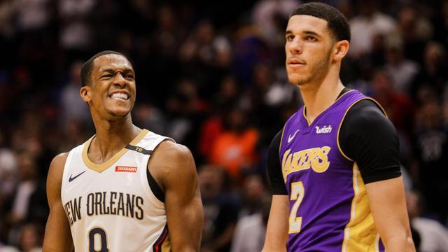 On CBS Sports HQ, NBA writer Reid Forgrave joins Casey Keirnan to discuss Rob Pelinka's claim that Lonzo Ball will have to compete with veteran Rajon Rondo for the starting PG position.
