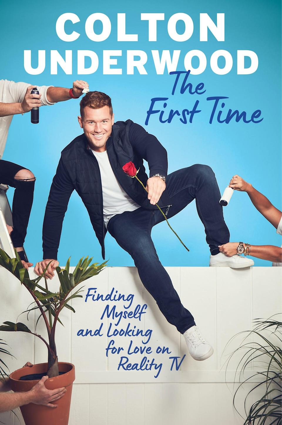 """Colton Underwood's memoir """"The First Time: Finding Myself and Looking for Love on Reality TV"""" hit bookshelves March 31, 2020."""