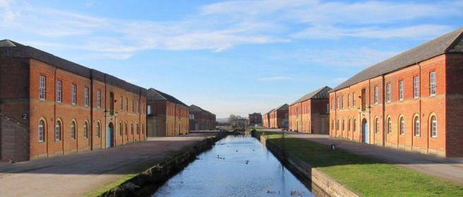 The Royal Ordnance Depot in Weedon, Northants., where the farm was found (Rightmove)