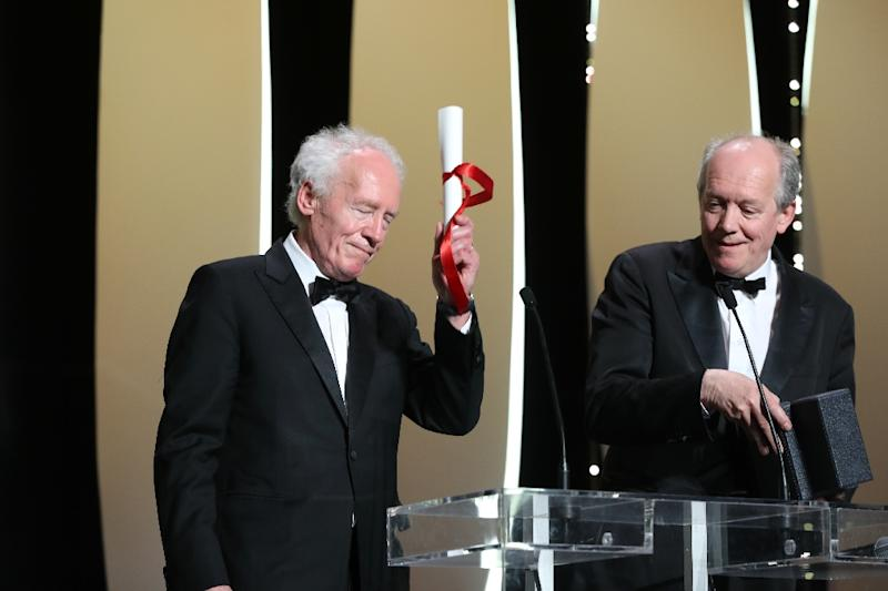 "Belgian director Jean-Pierre Dardenne (L) and Belgian director Luc Dardenne won the Best Director prize for the film ""Young Ahmed (Le Jeune Ahmed) at the Cannes film festival"