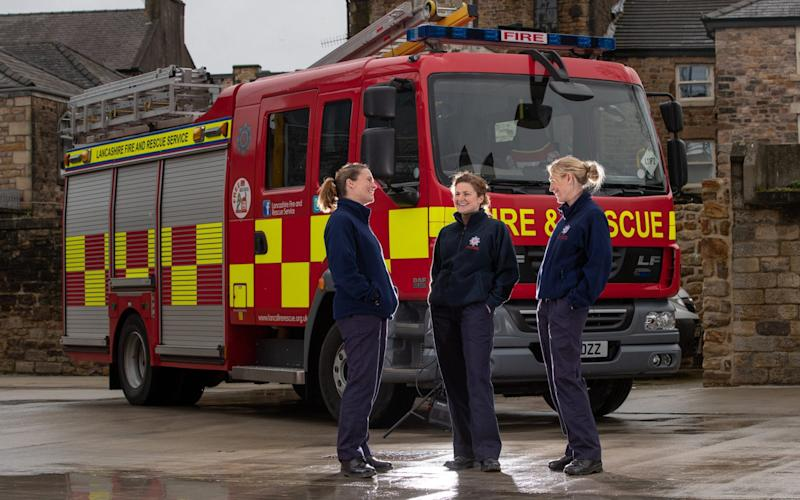 As of March 2019, out of the 44,200 firefighters in England, only 16.7 percent were female - ©2019 Charlotte Graham - CAG Photography