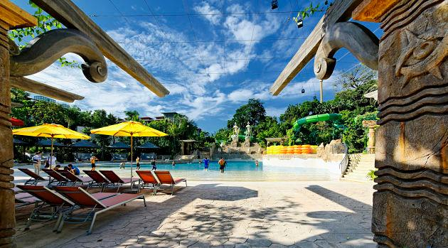 Take a look at the Bluwater Bay at Adventure Cove Waterpark. (Photo courtesy of Resorts World Sentosa)