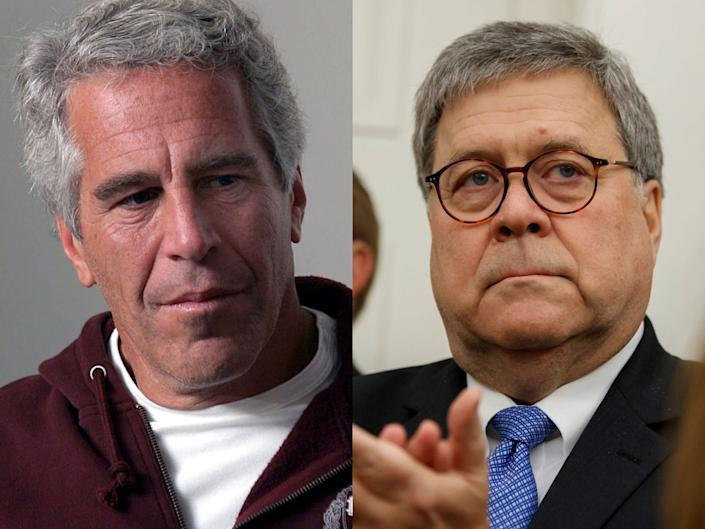 jeffrey epstein bill barr