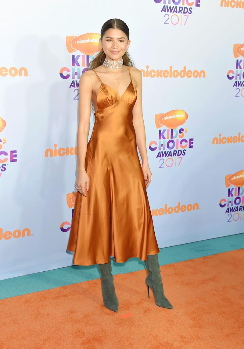 Zendaya's Glamorous Kids' Choice Awards Dress Is Under $50