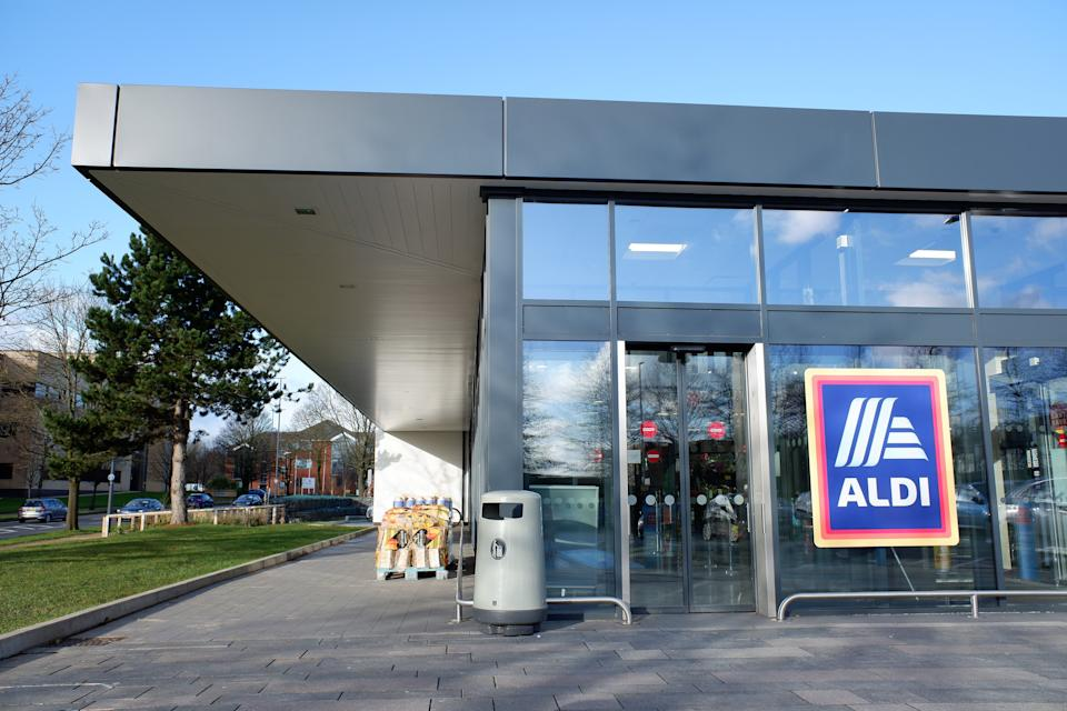 "Aldi CEO Giles Hurley noted the chain saw ""unprecedented demand"" for its products ""as customers pushed the boat out more than ever before."" Photo: Getty Images"