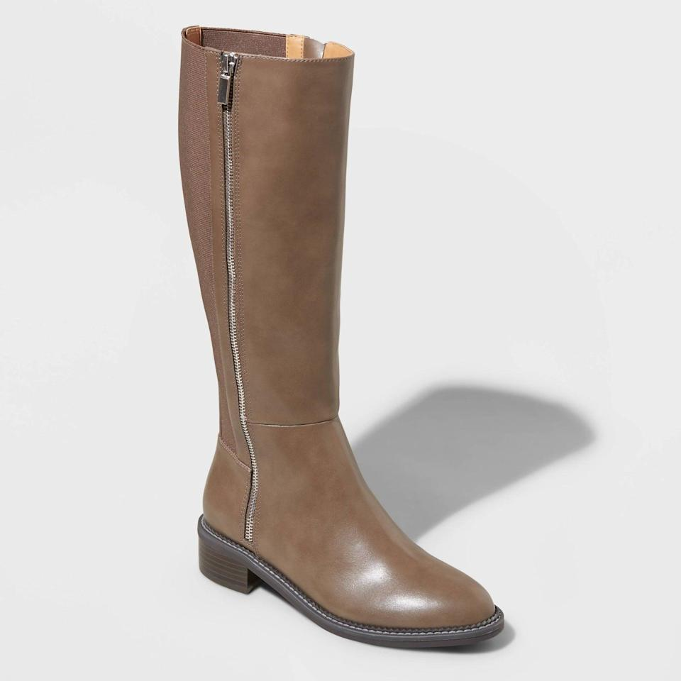 <p>Any fall wardrobe must include a pair of knee-hight boots like these <span>A New Day Abril Tall Boots</span> ($40). They include a full-length zipper on each side, so you can easy slip in and out of them.</p>