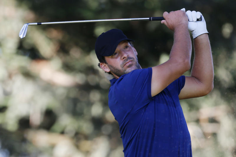 Tony Romo's career-best golf round has CBS watching closely