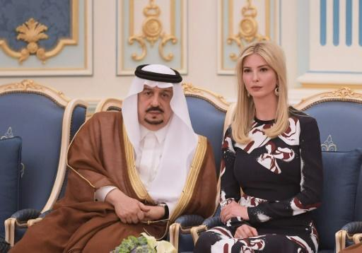 Ivanka Trump says Saudi progress on women 'encouraging'