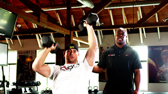 Training with the Pros: Bears guard Kyle Long