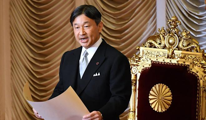 Japan's Emperor Naruhito, who will be enthroned on October 22. Photo: AFP