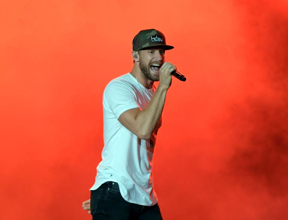 Chase Rice performs in 2019. (Photo: Mickey Bernal/Getty Images)