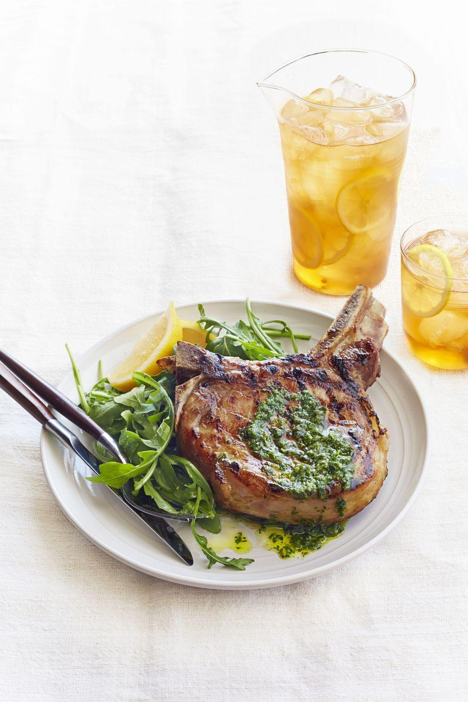 "<p>Give the burgers and dogs a rest and serve this grilled pork chop at your next BBQ instead.</p><p><a href=""https://www.goodhousekeeping.com/food-recipes/a16059/italian-pork-chops-recipe-ghk0814/"" rel=""nofollow noopener"" target=""_blank"" data-ylk=""slk:Get the recipe for Italian Pork Chops »"" class=""link rapid-noclick-resp""><em>Get the recipe for Italian Pork Chops »</em></a></p>"