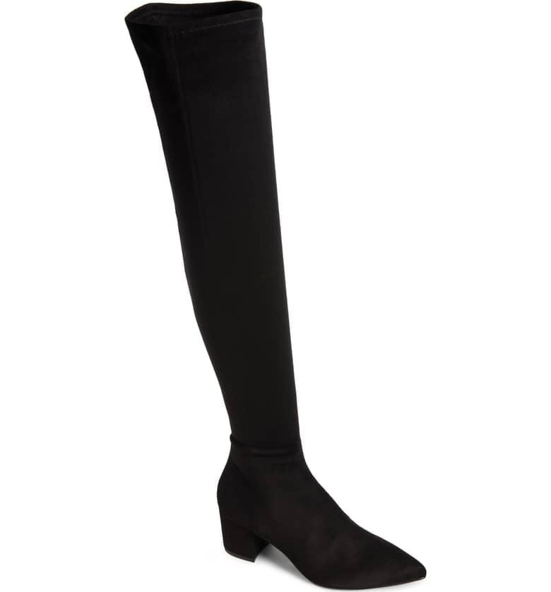 """<p>I'm planning on trading in my old sneakers for sleek thigh-high boots. These <a rel=""""nofollow"""" href=""""https://www.popsugar.com/buy/Steve-Madden-Brinkley-Over-Knee-Stretch-Boots-365793?p_name=Steve%20Madden%20Brinkley%20Over%20the%20Knee%20Stretch%20Boots&retailer=shop.nordstrom.com&price=130&evar1=fab%3Aus&evar9=45279703&evar98=https%3A%2F%2Fwww.popsugar.com%2Ffashion%2Fphoto-gallery%2F45279703%2Fimage%2F45279852%2FSteve-Madden-Brinkley-Over-Knee-Stretch-Boots&list1=shopping%2Cfall%20fashion%2Cfall%2Ceditors%20picks%2Ceditors%20picks&prop13=mobile&pdata=1"""" rel=""""nofollow"""">Steve Madden Brinkley Over the Knee Stretch Boots</a> ($130) are the perfect choice that will match with everything from skirts to dresses.</p>"""