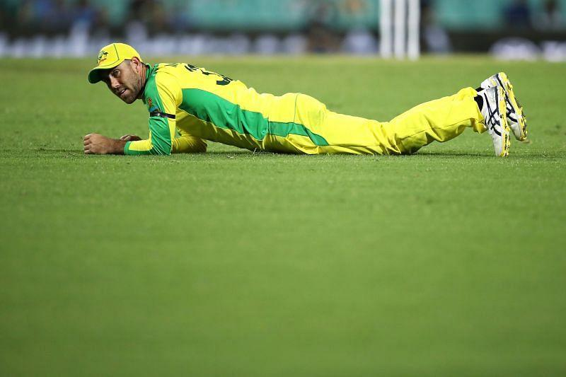 Glenn Maxwell finds himself in a rich vein of form in the ODI series.