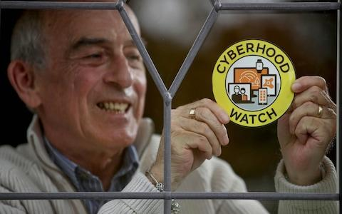 Robin Sutton, 66, has been a Neighbourhood Watch representative for Cambridgeshire for 15 years - Credit: PA