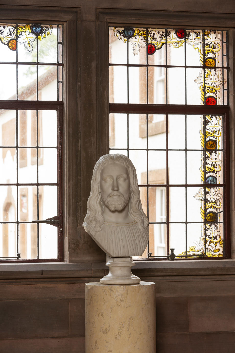 The bust is one of only two of Lewis' works available to the public in the UK (Mount Stuart/PA)