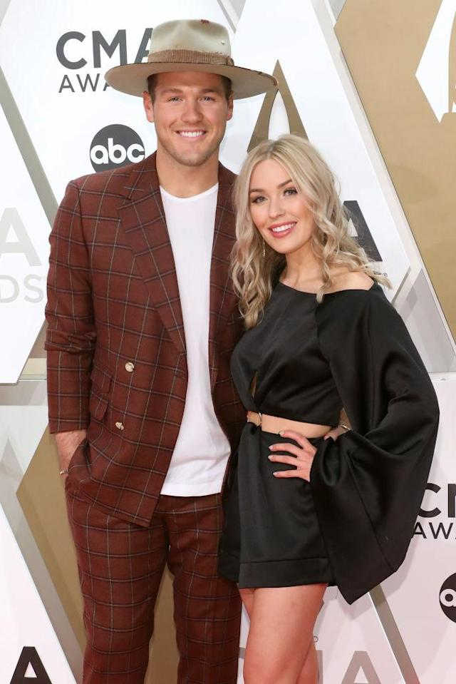 """Colton Underwood and Cassie Randolph starred on """"The Bachelor."""" (Photo: Taylor Hill/Getty Images)"""