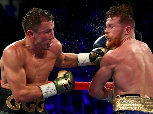 Golovkin and Canelo look set to fight again next year: Getty