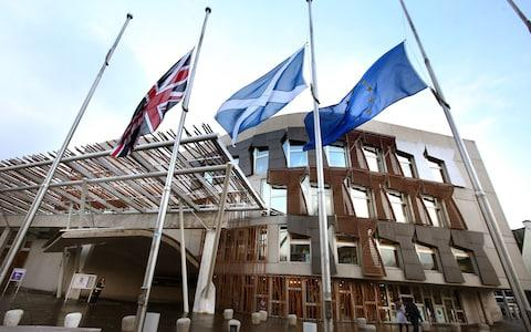 The incident is alleged to have happened at a social event in the Scottish Parliament - Credit: PA