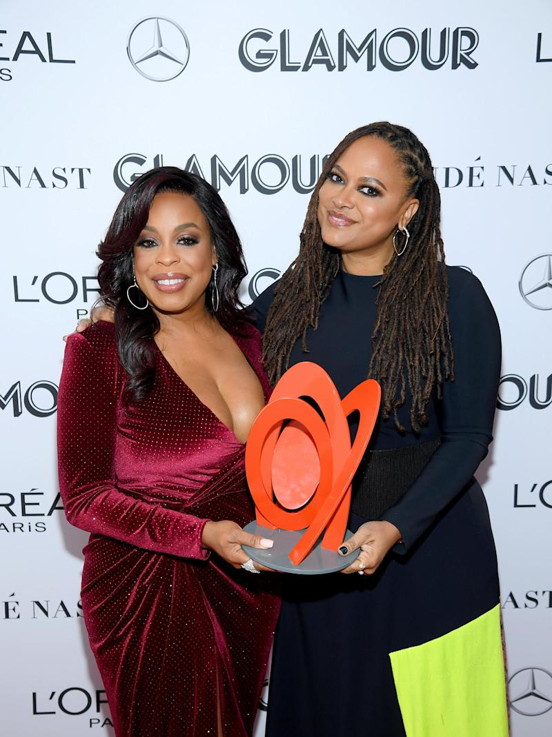 Niecy Nash and Ava DuVernay (Dimitrios Kambouris/Getty Images for Glamour)