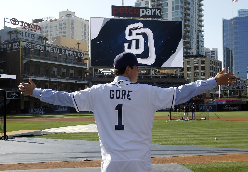 San Diego Padres first-round selection MacKenzie Gore might be the best pitcher in the 2017 MLB draft. (AP)