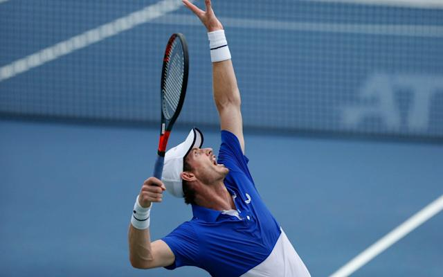 Andy Murray opted to use his protected ranking to ensure entry for Great Britain - FR171284 AP